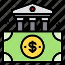 bank, banking, cash, dollar, money icon