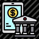bank, banking, mobile, money, smartphone