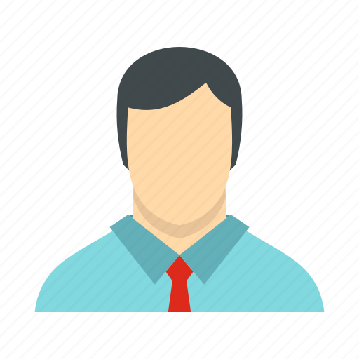 avatar, head, male, person, shirt, tie, user icon