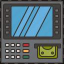 withdrawal, machine, atm, money, cash