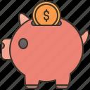 financial, investment, saving, money, interest