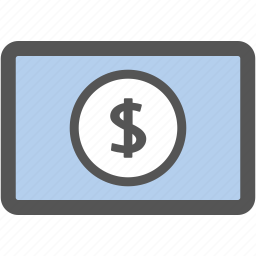 bank, cash, dollar, financial, money, payment, shopping icon