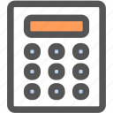 bank, business, calculator, financial, marketing, math, money icon