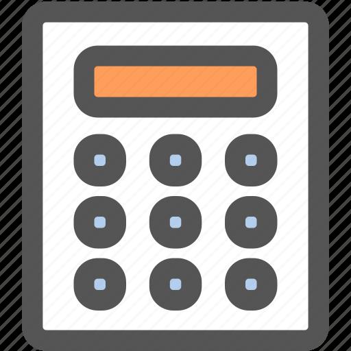 bank, business, calculator, financial, marketing, math, money icon