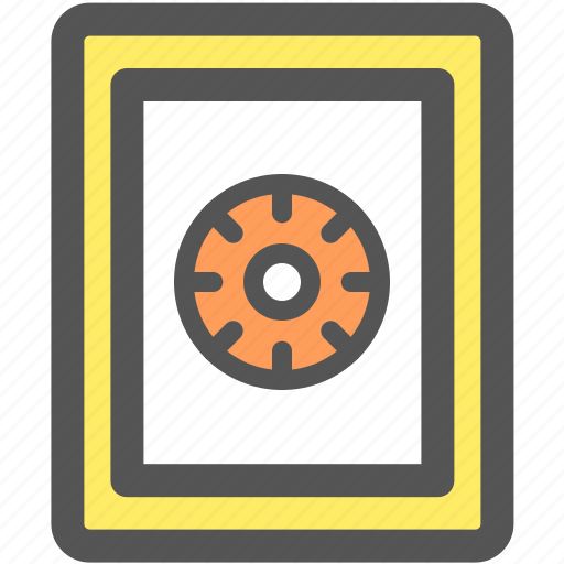 bank, financial, money, password, protection, safe, security icon