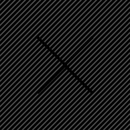 close, cross, hide, quit icon