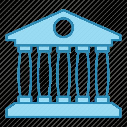 bank, banking, building, card, financial, money icon