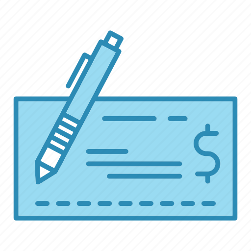 banking, business, cheque, finance, money, payment icon
