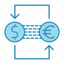banking, cash, currency, exchange, finance icon