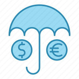 banking, insurance, money, protection, safety, secure icon