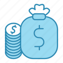 banking, business, cash, currency, dollar, money, payment icon