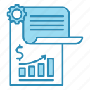 analytics, banking, financial, graph, report, statistics icon