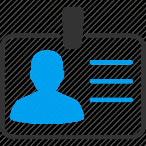 access card, account, avatar, badge, profile, user account, user card icon