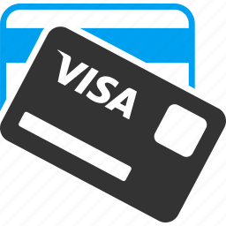 banking cards, credit, finance, financial, payment, price, visa card icon