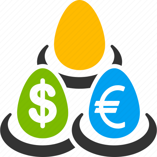 currency, deposit, diversification, financial, invest, money, savings icon