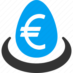 currency, deposit, euro, finance, financial, funds, invest icon