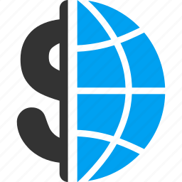 banking, business, corporation, financial, global, international, seo icon