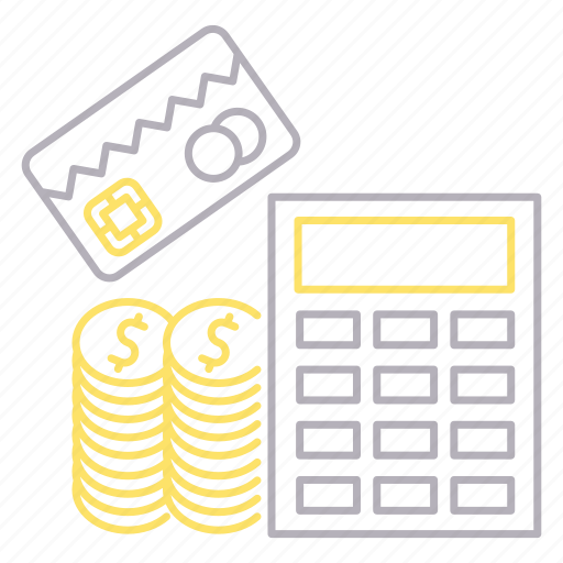 banking, calculation, financial, money icon