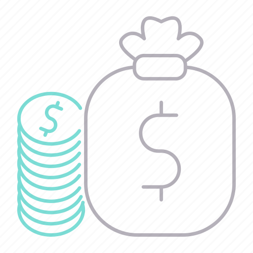 banking, cash, currency, money icon