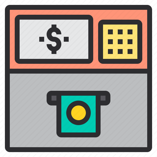 atm, banking, business, finance, payment icon