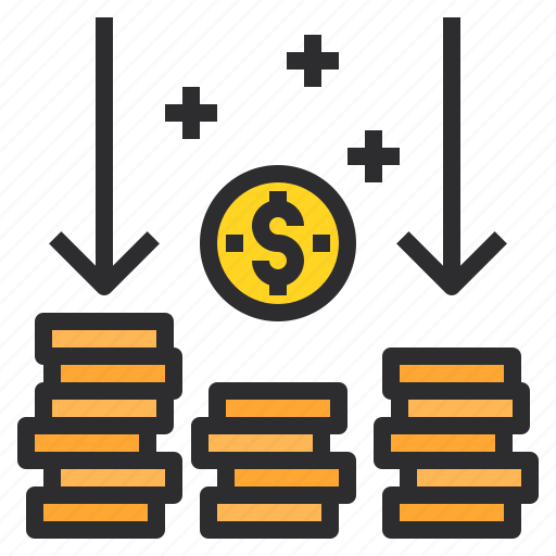 banking, business, coins, finance, payment icon