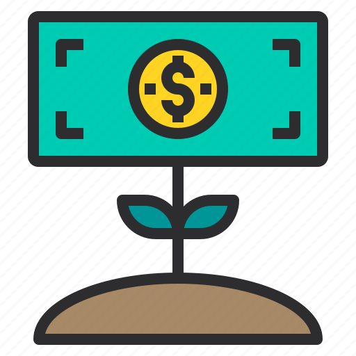 banking, business, finance, growth, money, payment icon