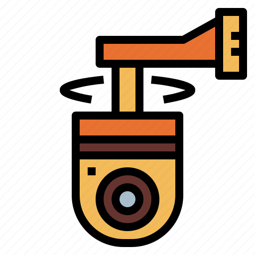 camera, security, technology, video icon