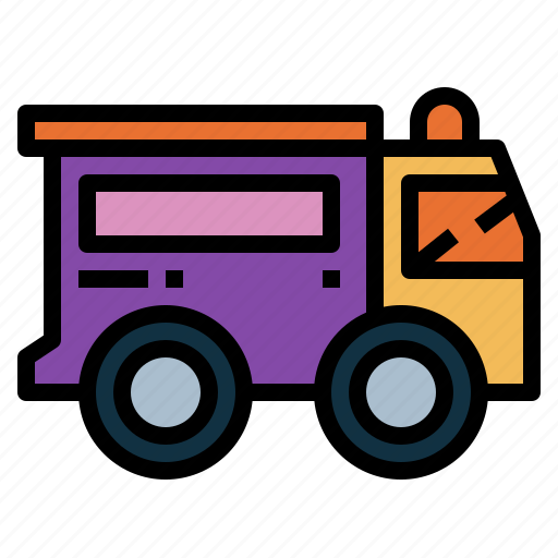 bank, delivery, transportation, truck icon