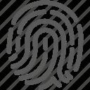bank, financial, fingerprint, password, security