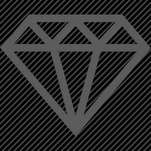 diamond, gem, jewel, shopping, wedding icon
