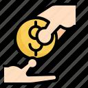 business, development, finance, investment, money icon