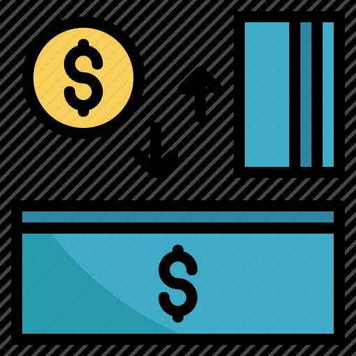 bank, deposit, finance, money, payment, savings icon