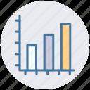 analytics, bar, chart, diagram, financial, graphs, progress