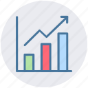 analytics, chart, graph, metrics, sales, stats icon