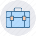 bag, bank, brief case, business, office bag, school bag, suit case icon