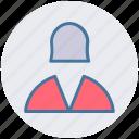avatar, book keeper, female, profile, staff, user