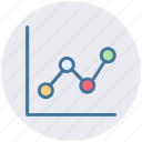 analytics, business, chart, graphs, presentation icon, statistics icon
