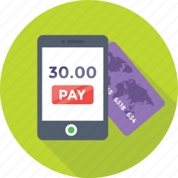 banking, mobile, mobile banking, online pay, transaction icon