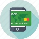 banking app, m commerce, mobile, mobile banking, transaction icon