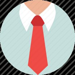 clothing, formal dress, formal shirt, shirt, tie icon