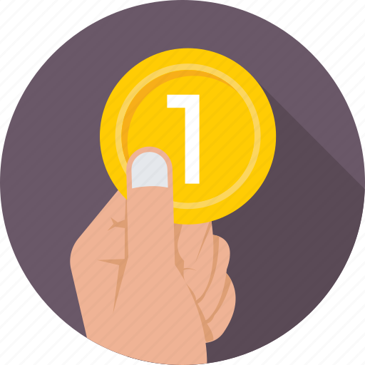 coin, contribution, currency, donation, give icon