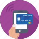 banking, mobile, mobile banking, payment, transaction icon