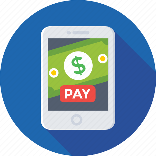 e transaction, mobile banking, mobile transaction, online banking, online pay icon