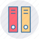 archive, book, documentation, files, history, information, library icon