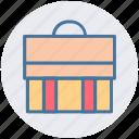 bag, brief case, business, finance, money, office bag, school bag icon