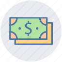 business, cash, dollars, finance, money, payment, revenue icon