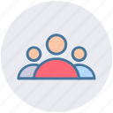 group, humans, men, people, persons, team, users icon