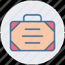bag, bank, brief case, business, case, office bag, suit case icon