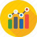 bar chart, bar graph, graph, growth, statistics icon
