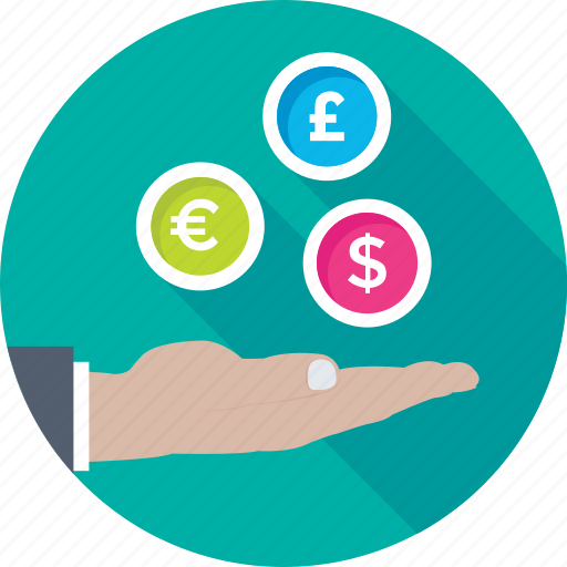 currency trading, dollar, forex trading, money value, trade icon
